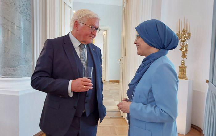 60 Jahre Anwerbeabkommen: Smf-Bundesverband beim Bundespräsidenten